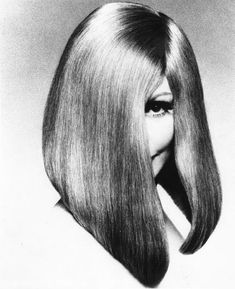 Vidal Sassoon's Long Inverted Bob. | if it's hip, it's here