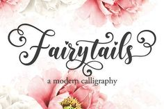 Fairytails (Font) by Almeera Studio · Creative Fabrica Handwritten Fonts, Calligraphy Fonts, Modern Calligraphy, Script Fonts, Linux, Apple Mac, Cool Fonts, New Fonts, Awesome Fonts