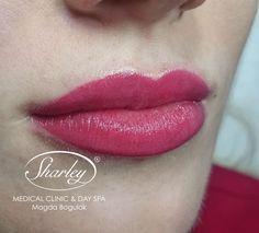 Makijaż permanentny ust z wypełnieniem