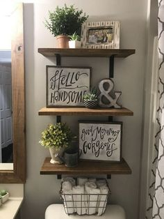 If You Read Nothing Else Today, Read This Report On Rustic Bathroom Diy Idea. - If You Read Nothing Else Today, Read This Report On Rustic Bathroom Diy Ideas Farmhouse Decor 2 - Rustic Decor, Farmhouse Decor, Farmhouse Style, Farmhouse Ideas, Modern Farmhouse, Country Style, Rustic Modern, Farmhouse Shelving, Farmhouse Front