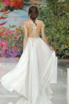 50 vestidos de novia con escote a la espalda 2017: ¡los querrás todos! Image: 17