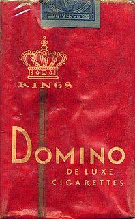 Vintage Cig Package. Love the red