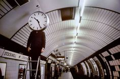 """THROUGH THE LENS: Bob Mazzer :``""""Every day I traveled to King's Cross and back. Coming home late at night, it was like a party and I felt like the tube was mine and I was there to take the pictures"""" ."""