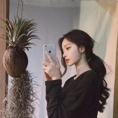 Hair Colors Light Blue any Hairless Cat Gray many Haircut Pictures Ponytail Hai Ulzzang Girl Selca, Couple Ulzzang, Mode Ulzzang, Ulzzang Korean Girl, Kfashion Ulzzang, Pretty Korean Girls, Cute Korean Girl, Korean Beauty, Asian Beauty