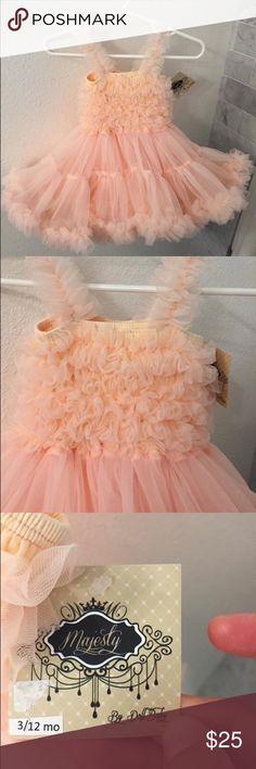 Baby Girl Light Pink Tutu Adorable tutu dress for babies. 12 months. Light pink. NWT. Dresses Formal