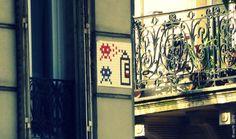 https://flic.kr/p/s9TEMT | Invader - PA_870 | Invaders in Paris! ----------------------------------- PA-870 - Rue Beaurepaire