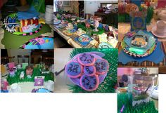 Mad Hatter Tea Party, Alice in Wonderland themed Birthday Party, fruit kabob wands