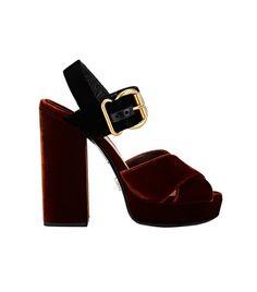 Prada Colorblocked Sandals