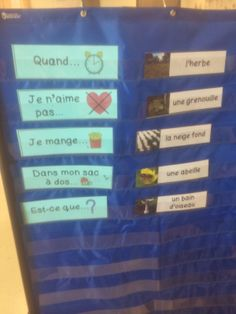 "Primary French Immersion Resources: Working on our oral communication. Avoiding the ""je vois..."" sentences."