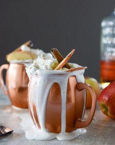 hot cider nog / howsweeteats.com