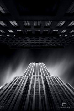 The city that never sleeps by Sébastien DEL GROSSO, via Behance