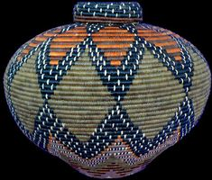 Zulu basketry.These baskets are amazing.