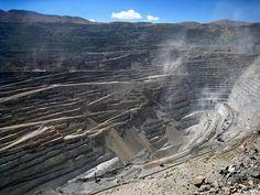 Chuquicamata Mine, northern Chile