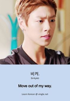 Yeah, what he said.  (Featuring Lee Hyun Woo)