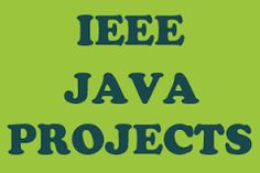1 Crore Projects is a best ieee project Developement centre in chennai and bulk initiatives ... IEEE JAVA PROJECTS 2016 best ieee project center in chennai .