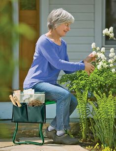 Same Great Features As Our Basic Kneeler, With A Seat Thatu0027s Deeper For  Added Comfort And Support So You Can Use It As A Sturdy Gardening Seat.