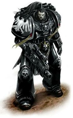 """captainblacklobster: """"The degeneration of the Raven Guard gene-seed means several of the unique organs of the Space Marines no longer work properly or no longer grow. Raven Guard do not have the Mucranoid or Betcher's Gland. Space Marine, Warhammer 40k Art, Warhammer Deathwatch, Space Wolves, Dark Fantasy, Fantasy Armor, Thing 1, Marines, Raven"""