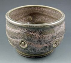 Clay Bowl by John Post - cone 6 electric kiln - slow cooled
