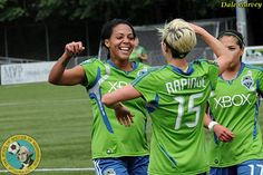Sounders Women's stars off to Olympics on high note