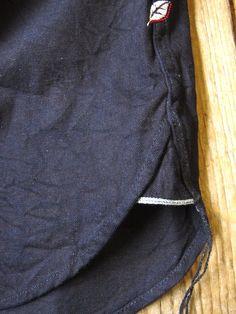 ディープインディゴ ウエスタンシャツ « pure blue japan
