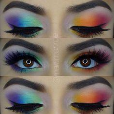 @mari.monroe on Instagram - Love the rainbow gradient!