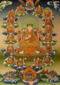 #Buddhism · Former Lives of the Karmapas — as told by the 15th and the 16th Gyalwa Karmapa