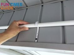 Diy curtains 232076187036538798 - DIY Curtain Rods For Outdoor Porch Curtains – See How I Installed Long Sheer Curtain Panels On A Homemade PVC Pipe Curtain Rod Myself Source by lynnettewalczak Screened Porch Curtains, Outside Curtains, Outdoor Curtains For Patio, Gazebo Curtains, Diy Gazebo, Patio Privacy, Hanging Curtains, Backyard Gazebo, Outdoor Shades For Porch
