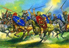 Charge of the Roman Legionary Cavalry