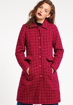 King Louie NATHALIE - Mantel - plum red - Zalando.nl