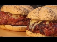 ▶ Bacon Sausage Cheeseburgers recipe by the BBQ Pit Boys - YouTube