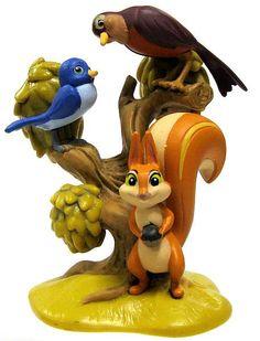 Mia, Poppy & Whatnaught Squirrel