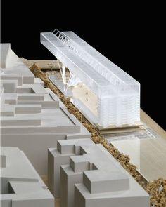 Paris Entertainment Center     Grafton Architects     Model: Stephen Quinn     Scale: 1.500
