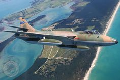 Hawker Hunter Fighter Aircraft, Fighter Jets, Aircraft Images, Jet Plane, Royal Air Force, Aviation Art, Royal Navy, Military Aircraft, Around The Worlds