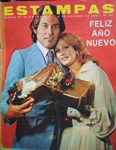 Portada de la revista Venezolana Estampas de Diciembre de 1978 con Hilda Carrero y Arnaldo Andre.