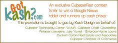 "The ""Got Kash?"" Contest...for CulpeperFest Attendees!!  Win Big, while enjoying yourself!!"
