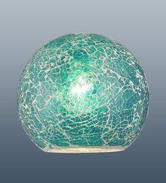 Aquarela Mosaic Glass Teal Pendant Lampshade: Amazon.co.uk: Lighting