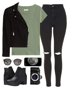 """""""+when nothings right and nothings wrong+"""" by i-heart-music-and-books ❤ liked on Polyvore featuring Steve Madden, Topshop, Closed, Steffen Schraut, Moncler and Olympus"""