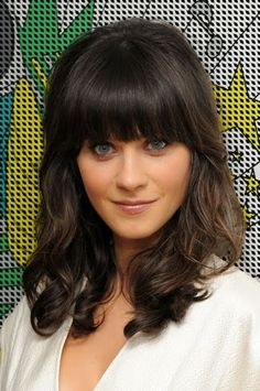 http://hot---celebs.tumblr.com   Thick bangs hairstyles