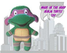 ITH Ninja Turtle Stuffed Toy 5x7