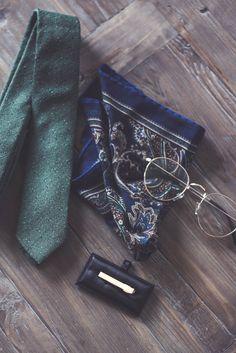 New accessories.  #accessories #tie #hankerchief #tiepin #mensfashion #mensstyle #classystyle #style #herremote