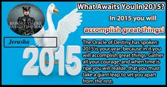 What awaits you in 2015?