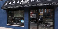 Custom Fireplace Store Really Jumps Gentrification Gun
