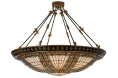 44 Inch W Fleur-de-lis Semi-flushmount. 44 Inch W Fleur-de-lis Semi-flush mount Theme:  VICTORIAN TIFFANY GOTHIC Product Family:  Fleur-de-lis Product Type:  CEILING FIXTURE Product Application:  SEMI FLUSH Color:  BEIGE HA GREEN/BLUE AMBER Bulb Type: MED Bulb Quantity:  8 Bulb Wattage:  100 Product Dimensions:  35H x 44WPackage Dimensions:  44.000L x 44.000W x 14.000HBoxed Weight:  52 lbsDim Weight:  NAOversized Shipping Reference:  TRUCKIMPORTANT NOTE:  Every Meyda Tiffany item is a...