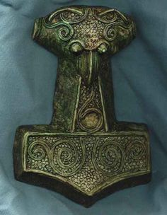 The Hammer of Thor or Mjolnir was one of the most important artifacts created by the Norse mythology and the pagan cultures;