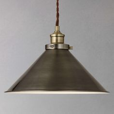 Buy Croft Collection Tobias Resto Pendant Ceiling Light from our Ceiling Lighting range at John Lewis & Partners. Free Delivery on orders over Lounge Lighting, Dining Room Lighting, Cool Lighting, Cottage Lighting, Lighting Ideas, Lighting Design, Ceiling Pendant, Pendant Lighting, Ceiling Lights