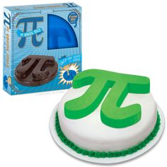 He..he..he...Pi Cake Pan - Accoutrements
