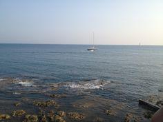Rocky beach Castiglioncello