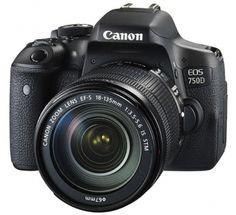 CANON Reflex EOS 750D + Objectif 18-135 @ hifi Luxembourg