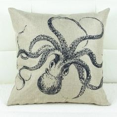 SHARE & Get it FREE | Cute Octopus Printed Square Composite Linen Blend Pillow CaseFor Fashion Lovers only:80,000+ Items • FREE SHIPPING Join Twinkledeals: Get YOUR $50 NOW!
