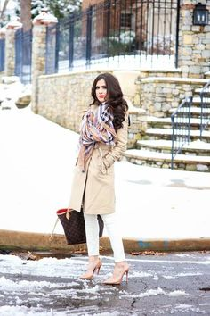 Plaid Scarf On Trench Outfit  # #The Sweetest Thing #Winter Trends #Fashionistas #Best Of Winter Apparel #Outfit Plaid Scarf On trench #Plaid Scarf On trench Outfits #Plaid Scarf On trench Outfit How To Wear #Plaid Scarf On trench Outfit 2015 #Plaid Scarf On trench Outfit Where To Get #Plaid Scarf On trench Outfit How To Style